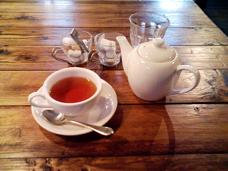 2008/11/15大野「リーヴズ」紅茶