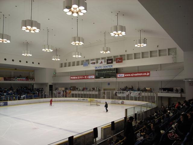 2009/11/15 新横浜スケートセンター 東側スタンドからの眺め