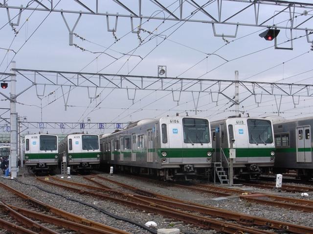 2009/12/05 東京メトロ綾瀬車両基地 6000系