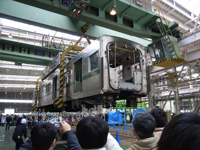 2009/12/05 東京メトロ綾瀬車両基地見学会(1)