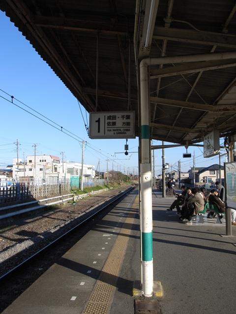 2009/12/06 湖北駅1番ホーム