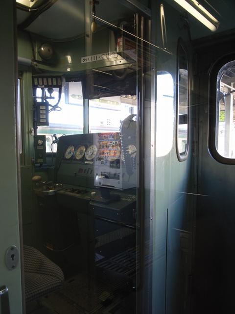 2009/12/20 クハ111 運転台