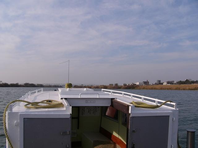 2009/12/27 小堀の渡し 利根川上