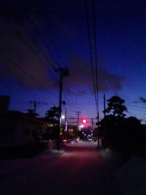 2010/01/03 夕暮れ