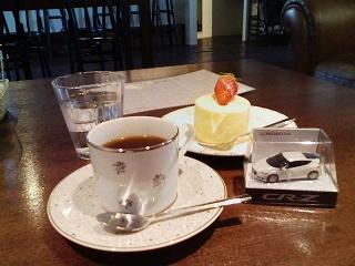 2010/02/27 バンビコーヒー シフォンロールケーキとコーヒー