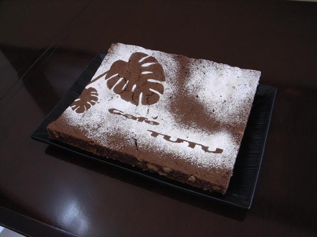 2010/03/14 cafe TUTU ケーキ