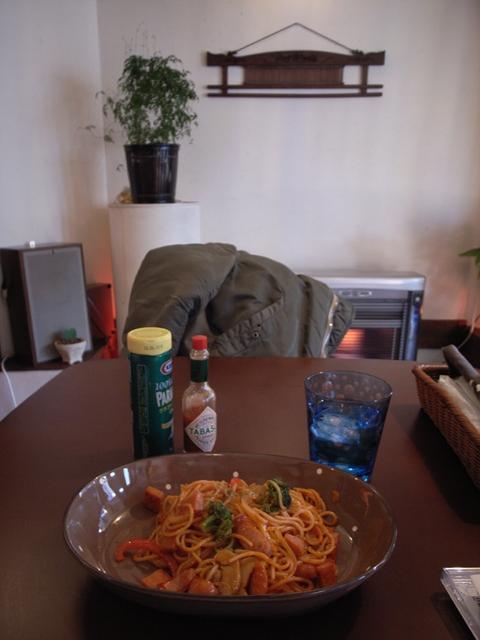 2010/03/22「カフェ シュガー」ナポリタン