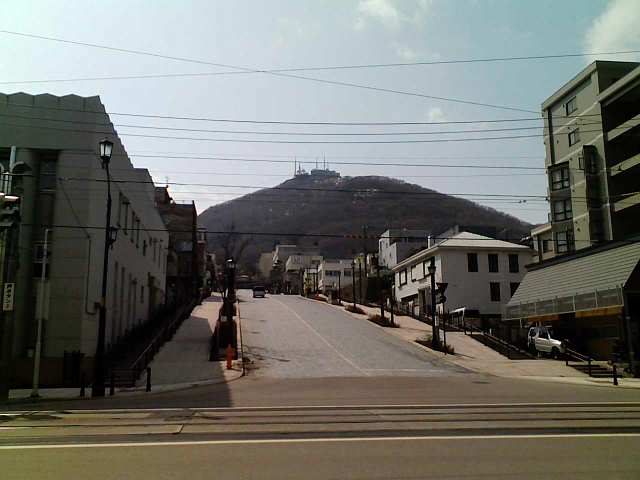2008/03/18 きょうの八幡坂
