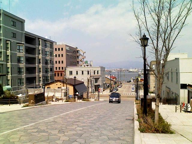 2008/04/25 きょうの八幡坂