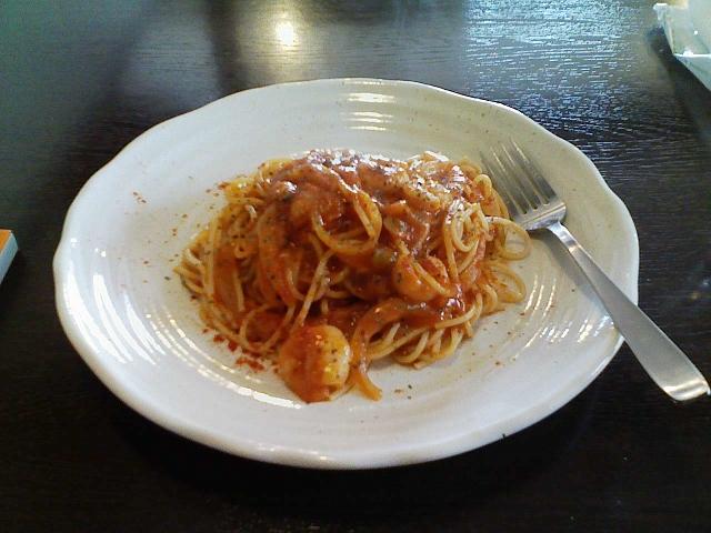 2010/04/03 Bebe Ciao トマトソーススパゲティ