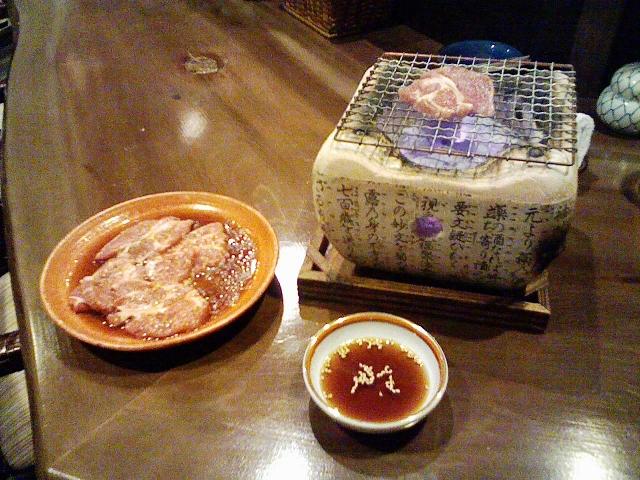 2010/05/03 「きたわせ」生ラム炭火焼き