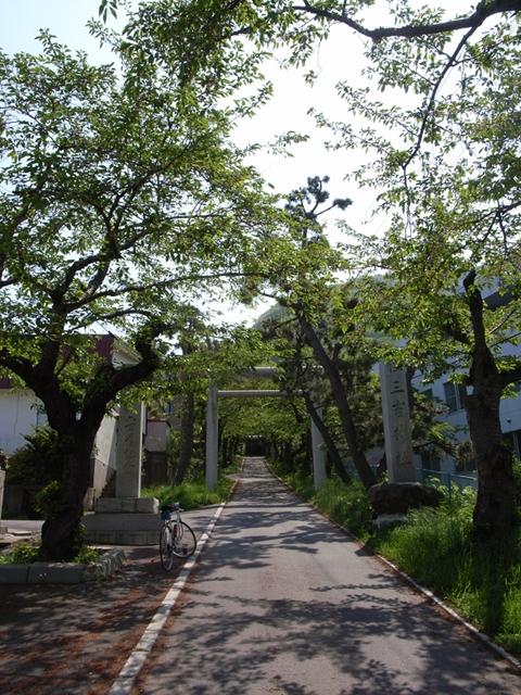 2010/06/06 住吉神社 参道