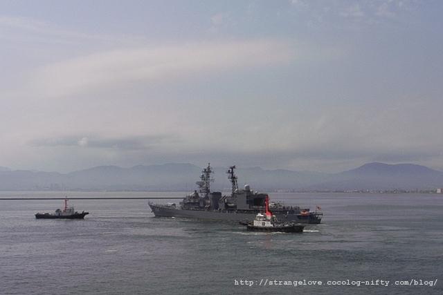 2010/07/31「あまぎり」体験航海出港