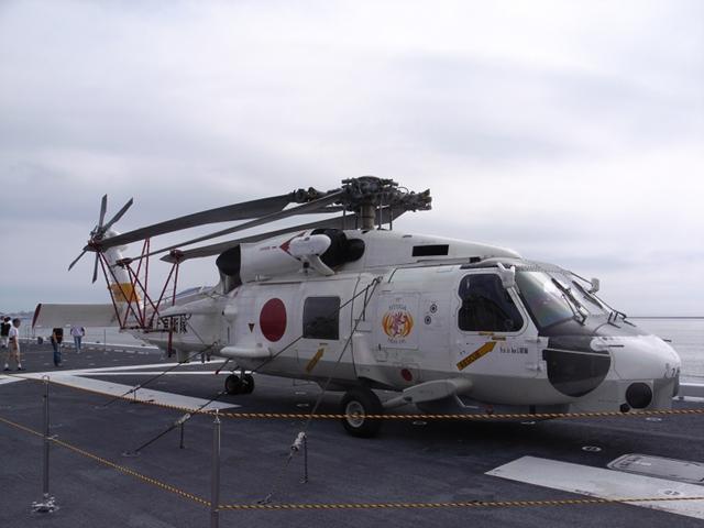 2010/07/31 SH-60J 右側面