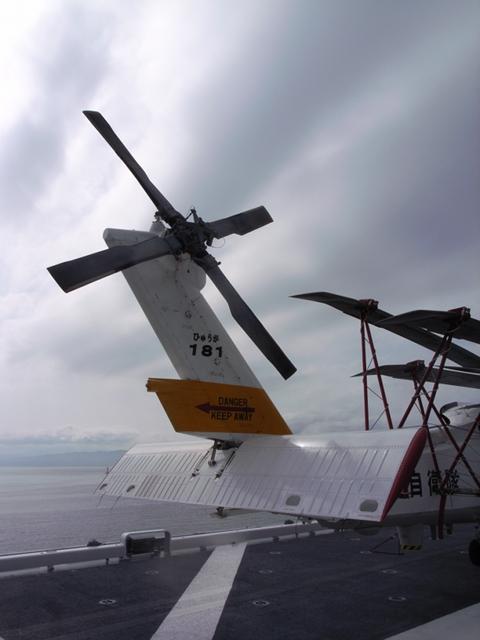 2010/07/31 SH-60J テイルブーム