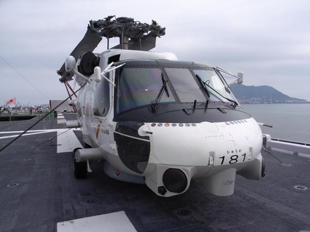 2010/07/31 SH-60J 前面