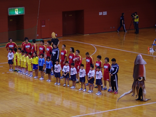 2010/09/11 JHL大崎電気対北陸電力 試合開始前