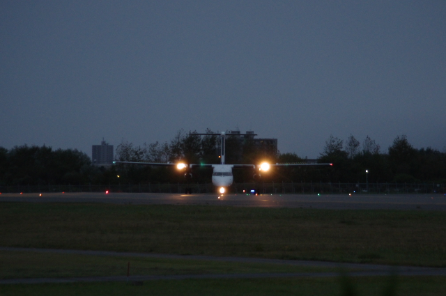 2010/10/10 函館空港 ANA4818便 CTS行き