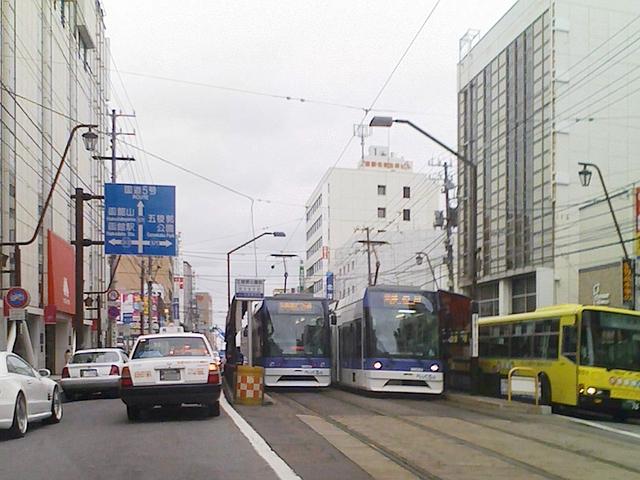 2010/10/10 函館市交通局9601号と9602号