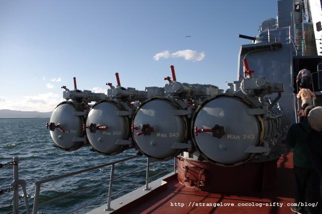 2010/10/16「アドミラル・パンテレーエフ」魚雷発射管
