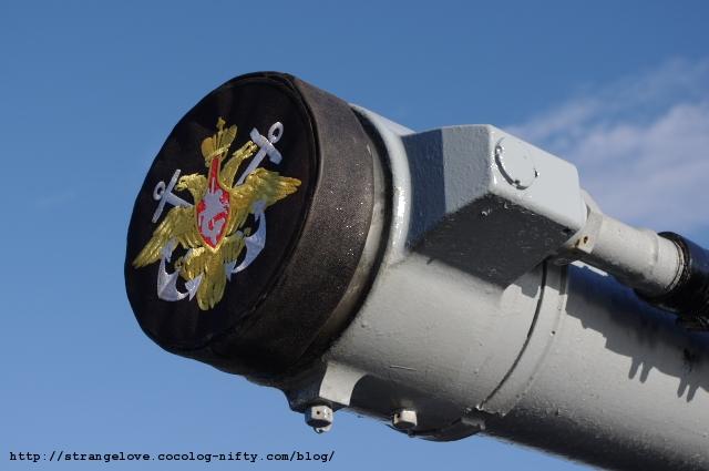 2010/10/16「アドミラル・パンテレーエフ」砲口覆い