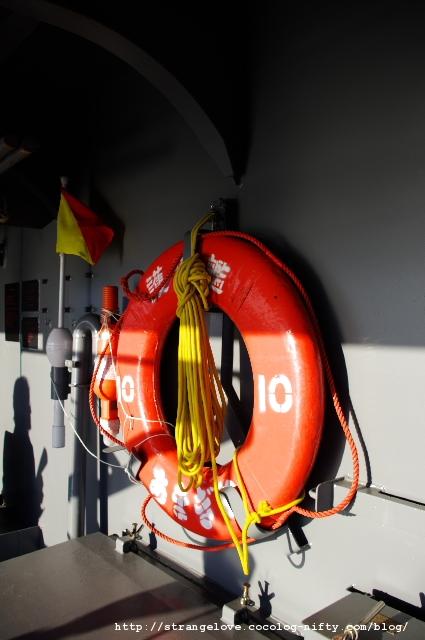 2010/10/16「あまぎり」(DD-154)浮き輪
