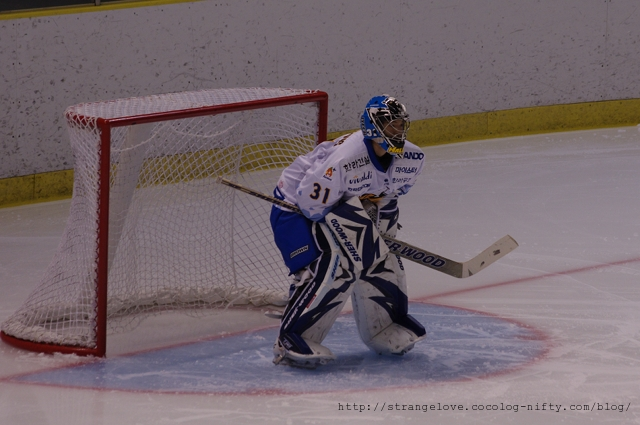 2010/10/23 OJI-AHL AHL GK 31 EUM,Hyun-SeungK