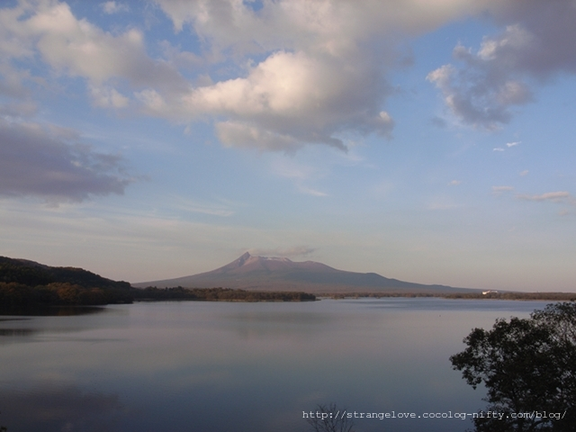 2010/10/30 夕刻の駒ヶ岳