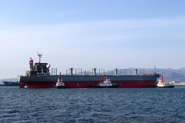 2011/05/06 函館どつく 第841号船 進水後