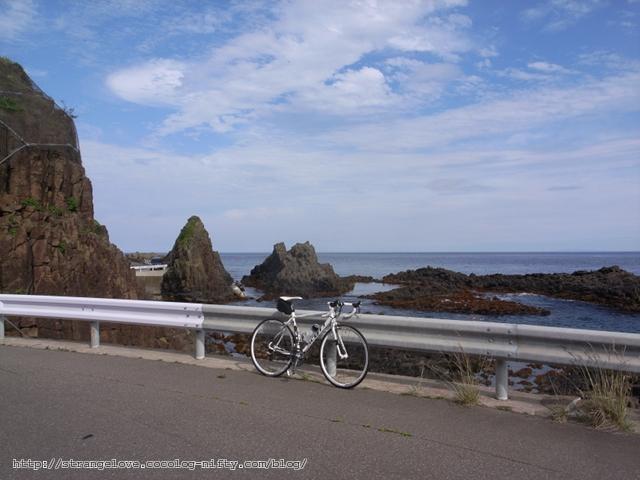 2011/07/18 恵山日浦海岸にて