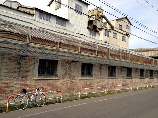 2011/10/30 上磯セメント工場前
