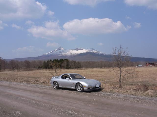 2008/04/06 FD3S 大沼にて