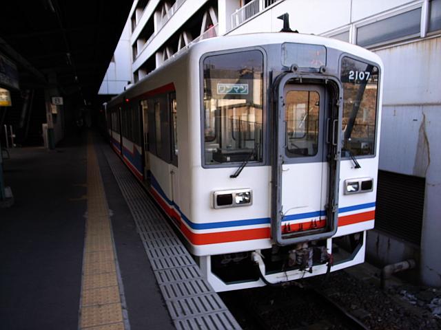080211 関東鉄道 キハ2107