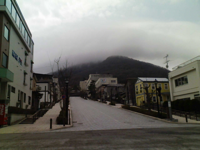 2008/04/09 きょうの八幡坂