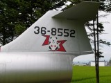 F-104J 36-8552 垂直尾翼