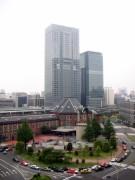 070519 新丸ビルより東京駅を望む