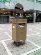 070519 万国郵便連盟加盟100周年記念ポスト