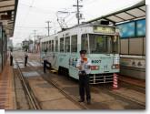 070805 函館市交通局8007号車(松風町電停にて)