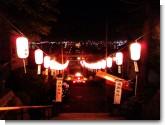 070810 日和坂 船魂神社境内より函館港を望む