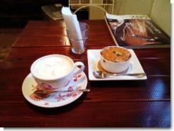 2009/01/03 peace piece カレードリアとウインナーコーヒー