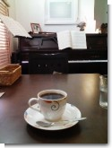 2009/01/17 Komorebi cafe 森の想 コーヒーとピアノ