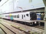 2007_0422 E257型EC 新宿駅にて