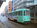 函館市電718号車「道新スポーツ号」