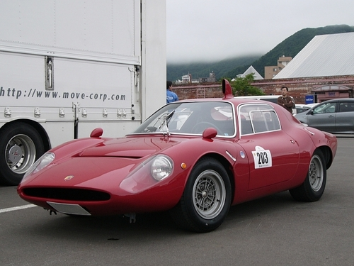 6th トロフェオ・タツィオ・ヌヴォラーリ・イン・ジャポーネ 203 1966年 フィアット・アバルト