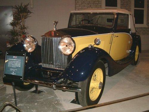 1925 Rolls-Royce 20/25HP Drophead [1]