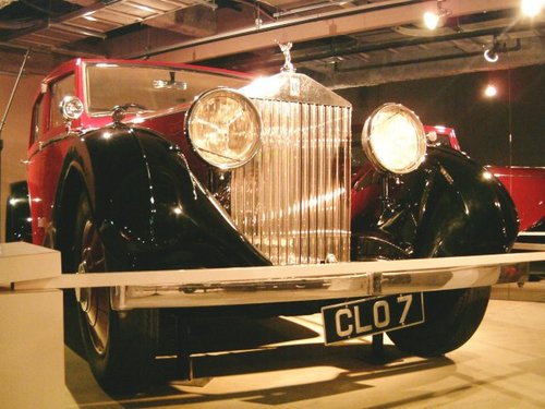 1936 Rolls-Royce 25/30HP Sedan [3]