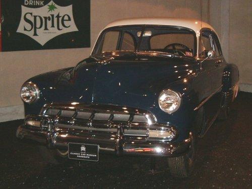 1952 Chevrolet Delux 2 Door Sedan