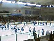 アジアリーグ2006-2007開幕戦 試合開始前