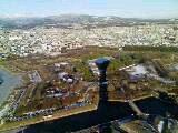 2009/01/02 五稜郭タワーから横津連峰方面を望む